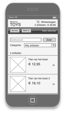 Webshop iPhone