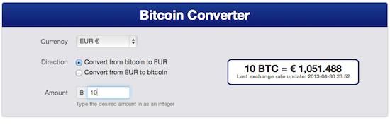 Bitcoin Converter AngularJS