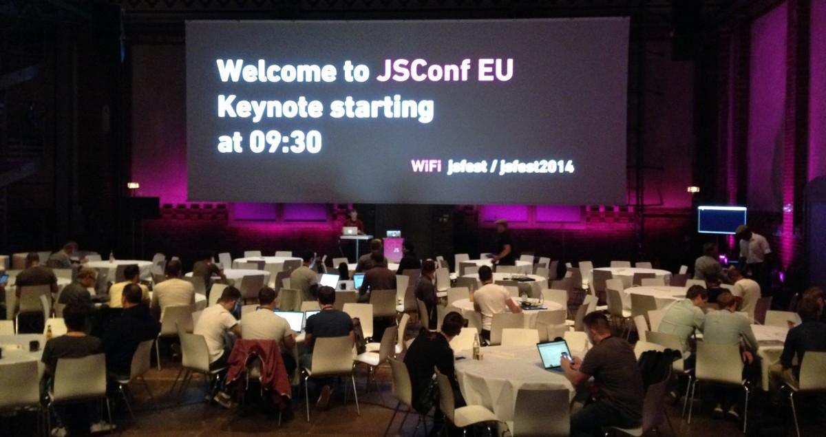 JSConf EU Berlijn – conferentiedag 1